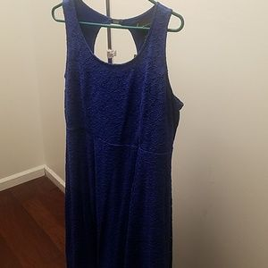 Lane Bryant Blue Dress